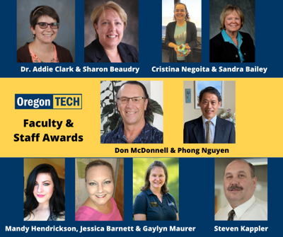 Oregon Tech faculty and staff awards