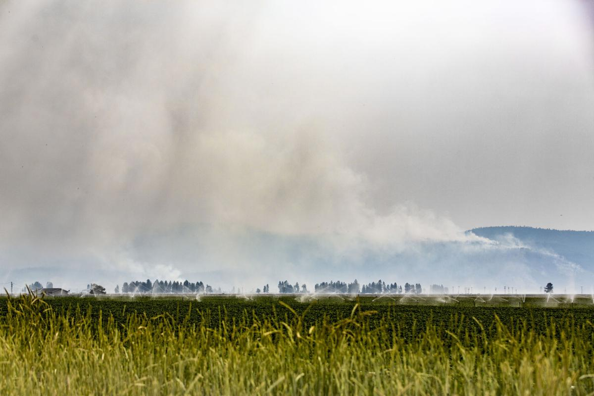 Tennant Fire Smoke
