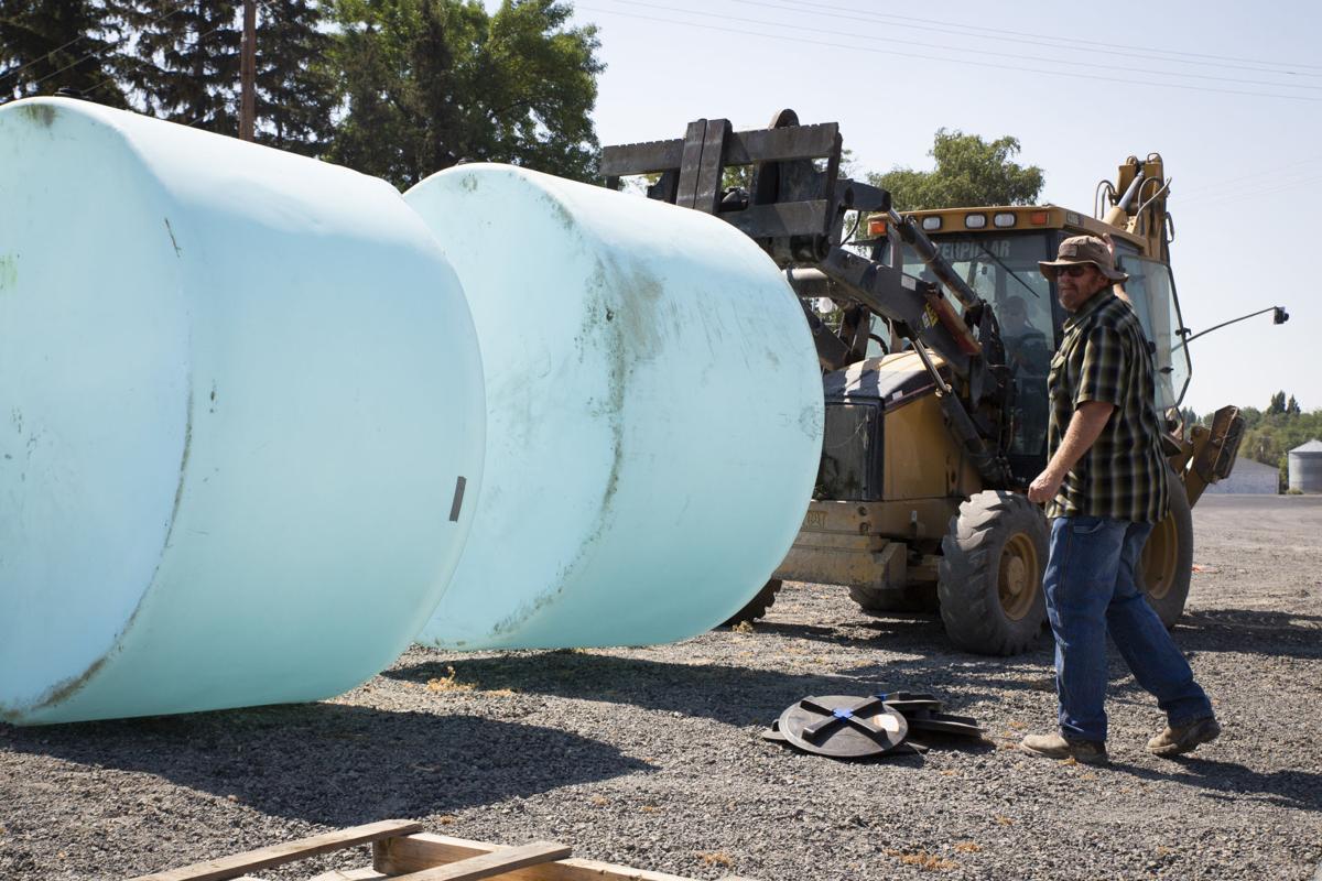 TID 1550 gallon tanks