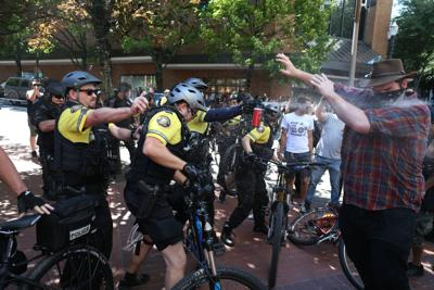 Portland Rallies Extremes Converge