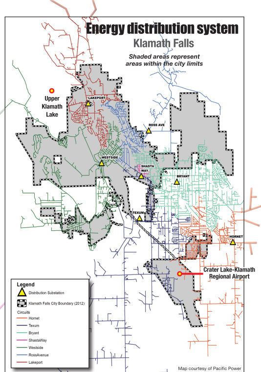 Fall City Oregon Map.Pacific Power Municipal Utility District Infeasible Email Blast