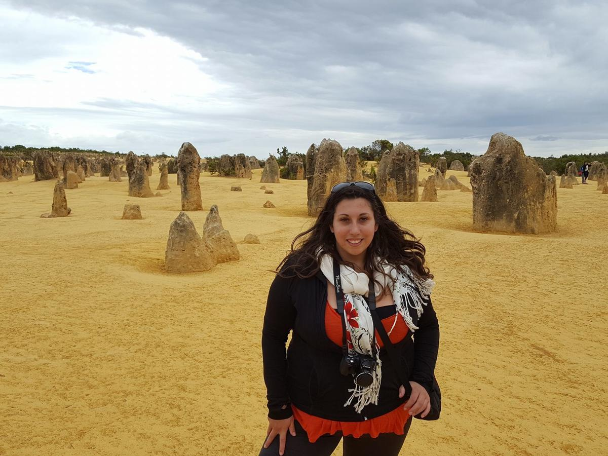 Cassie DeFillipo in Australia