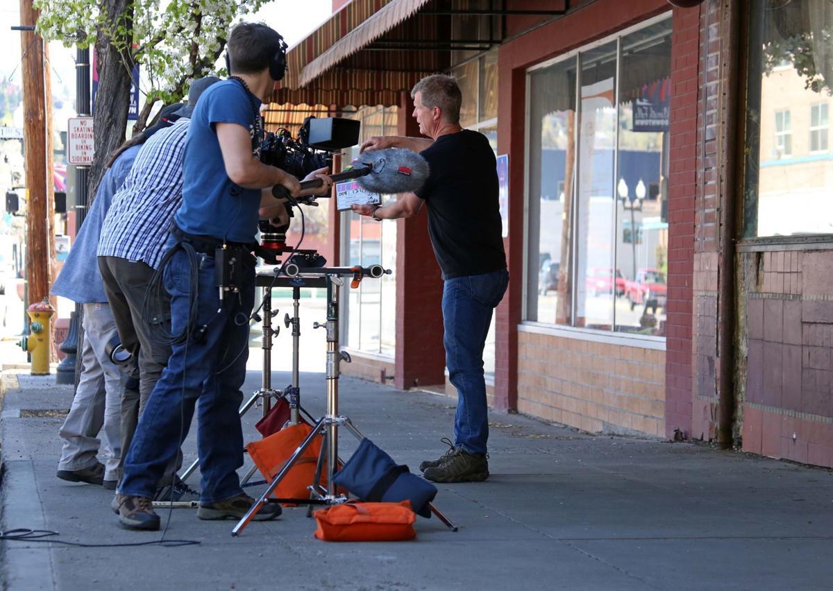 "Filming of ""Phoenix, Oregon"""