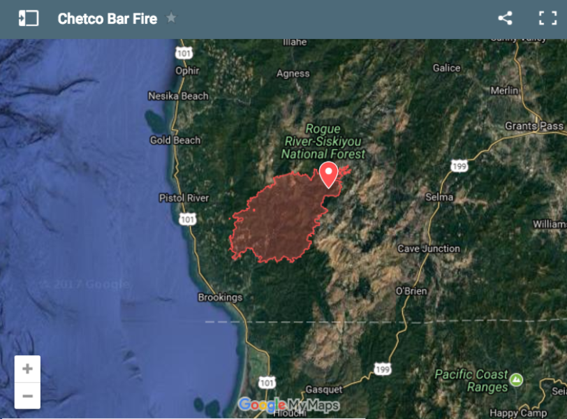 Chetco Bar Fire Promises More Fear And Uncertainty For Southwest Oregon