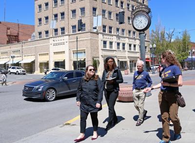RWJF officials visit Klamath Falls