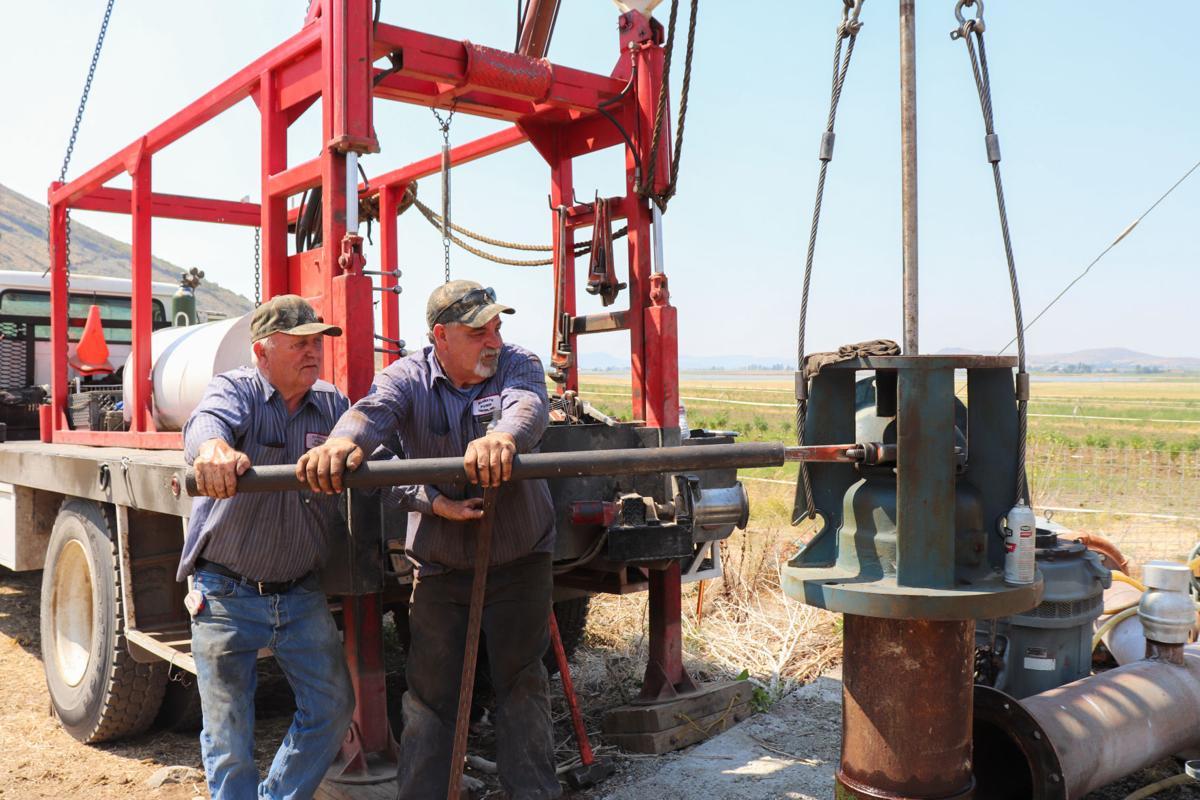 Klamath Basin Pump Center services a drought well