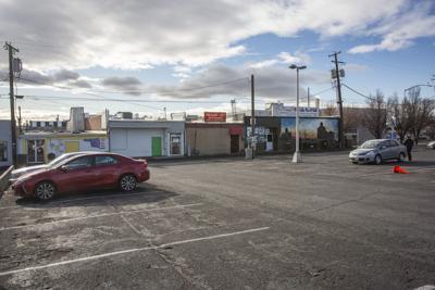 Hermiston parking lot