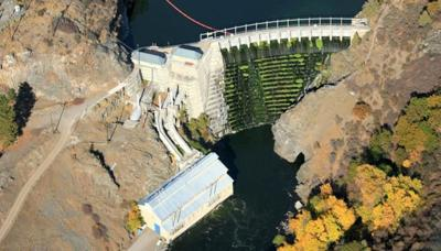 Copco 1 Dam on the Klamath River