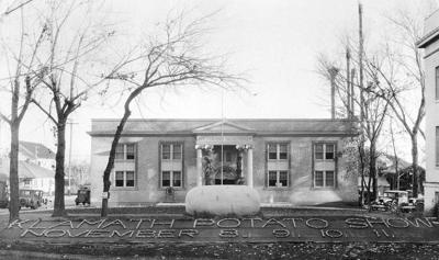 Klamath history photo: Veterans hall potato show