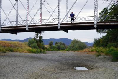 Scott River at Blacks Bridge