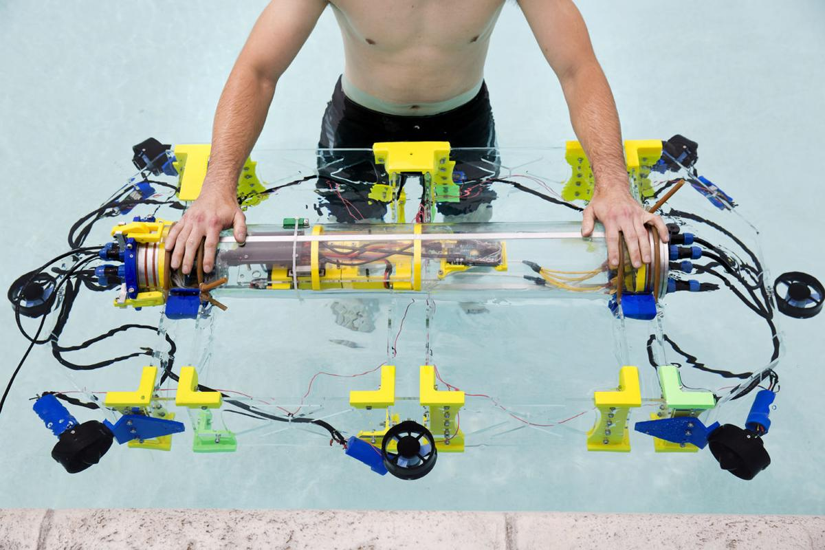 Going deep: OIT students prep for robotic submarine challenge ...