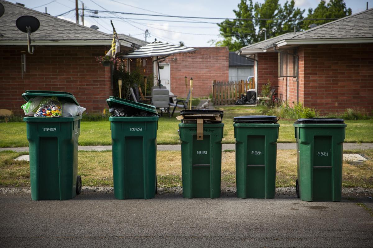 Recycling Bins on Garden Avenue