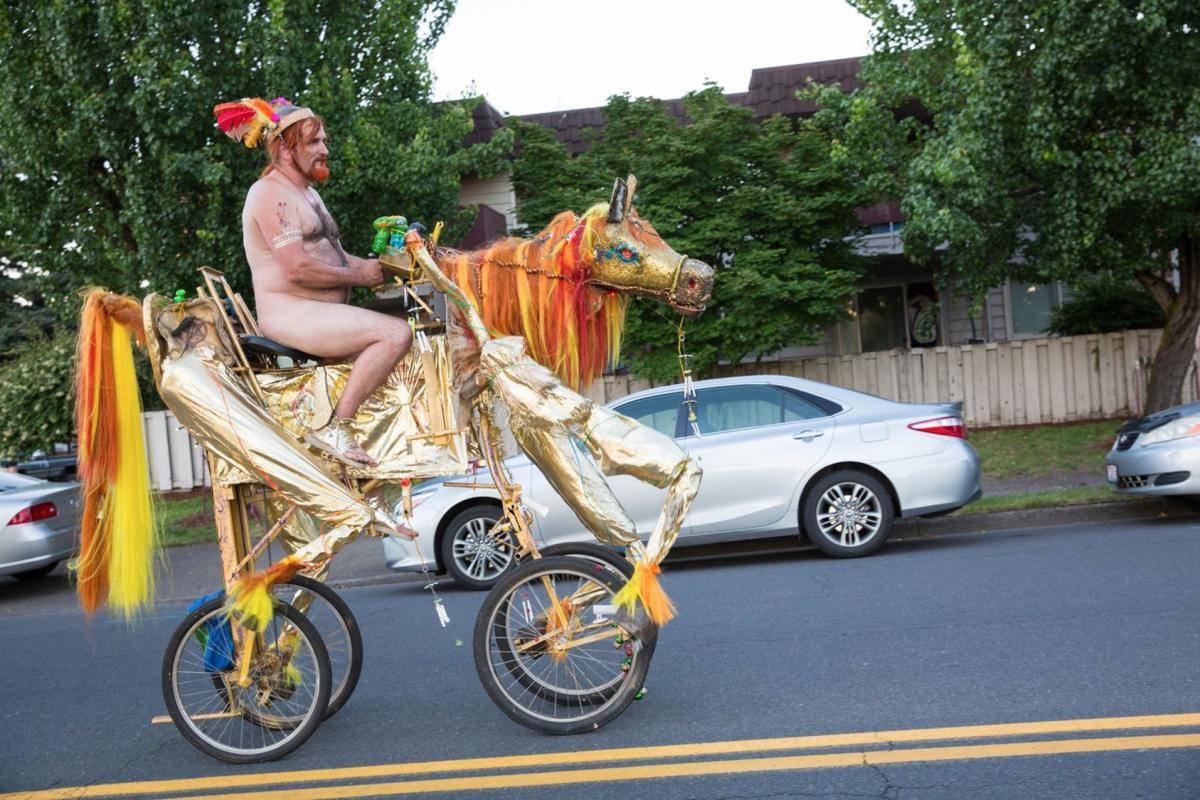 Portland Lets Loose At 2017 World Naked Bike Ride  Northwest  Heraldandnewscom-7191