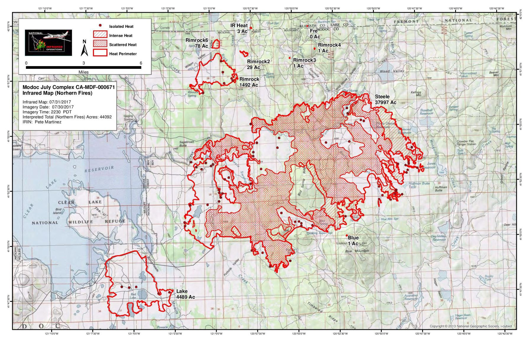 Wildfire evacuations in place for Modoc County residents Local