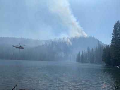 Harriette Lake Fire