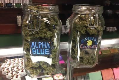 Legal pot sales