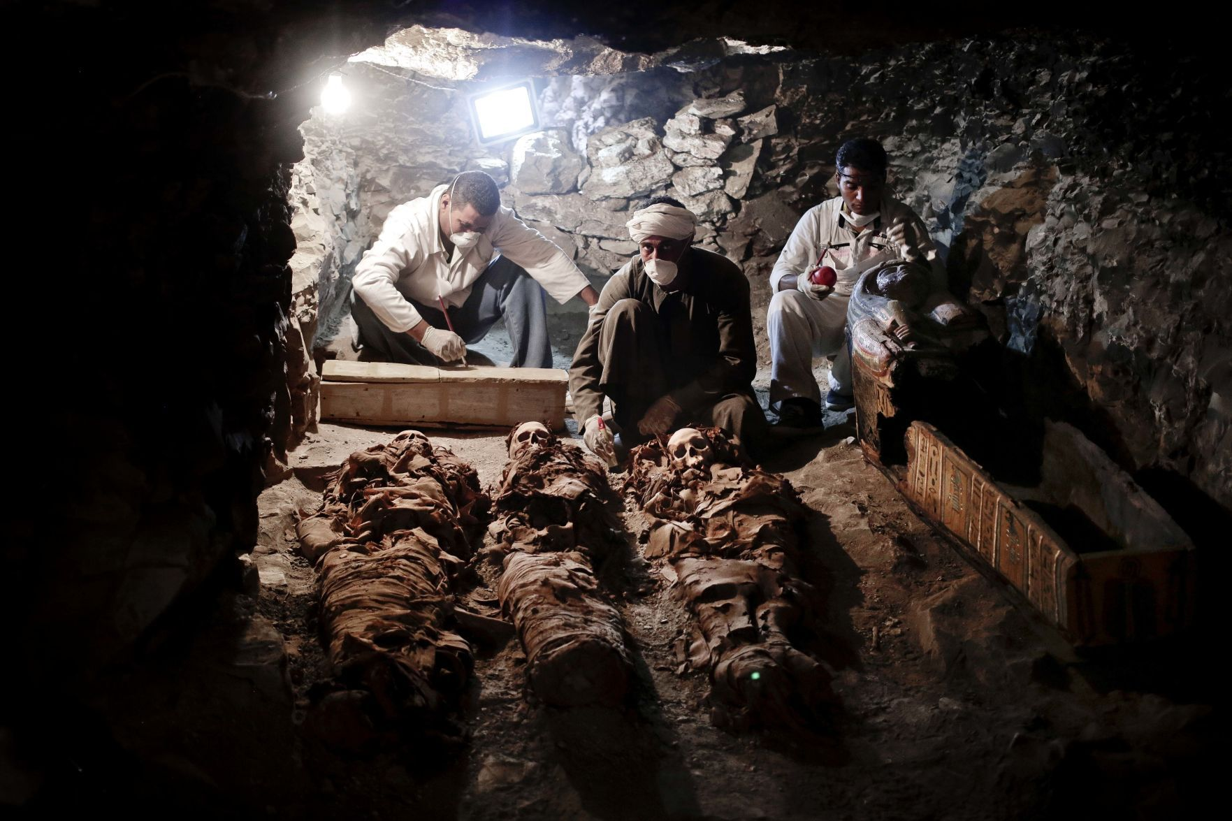 Egypt uncovers 3500-year-old tomb of royal goldsmith in Luxor