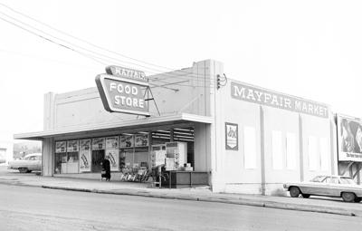 Klamath history photo: Mayfair Food Store