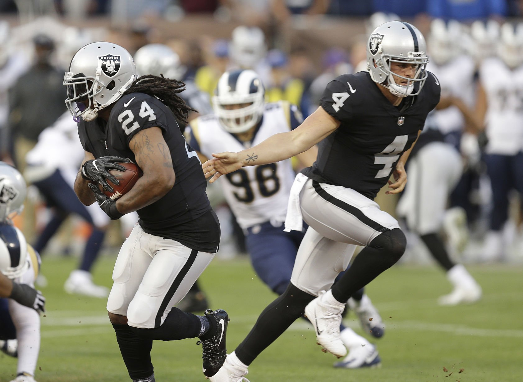 Raiders retain Statesville's Borders for practice squad