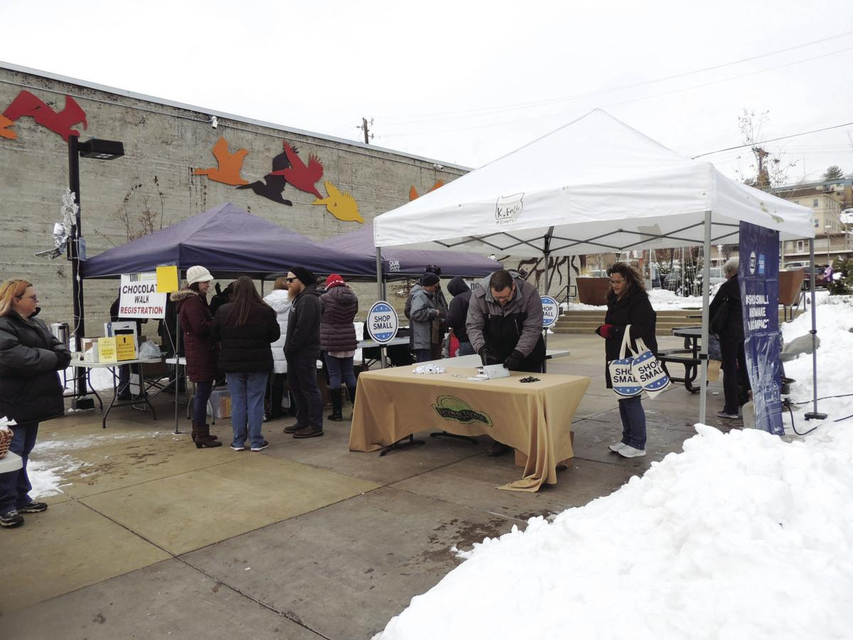 Small Business Saturday booth
