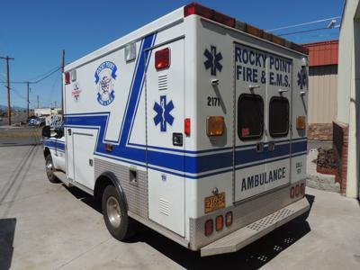 Rocky Pointy ambulance
