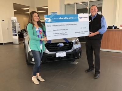 5-21 Subaru donation