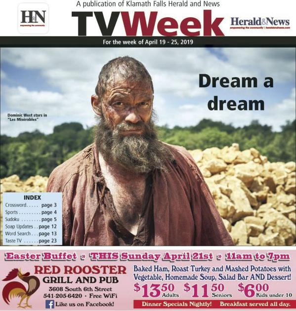 4b5455b5abb TV Week for April 19-25   TV Week   heraldandnews.com
