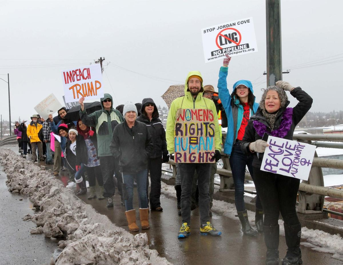 Women March group shot