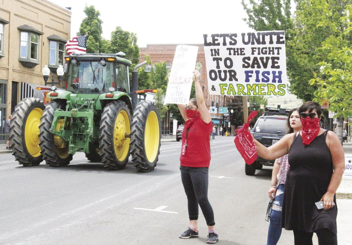 Klamath Tribes rally