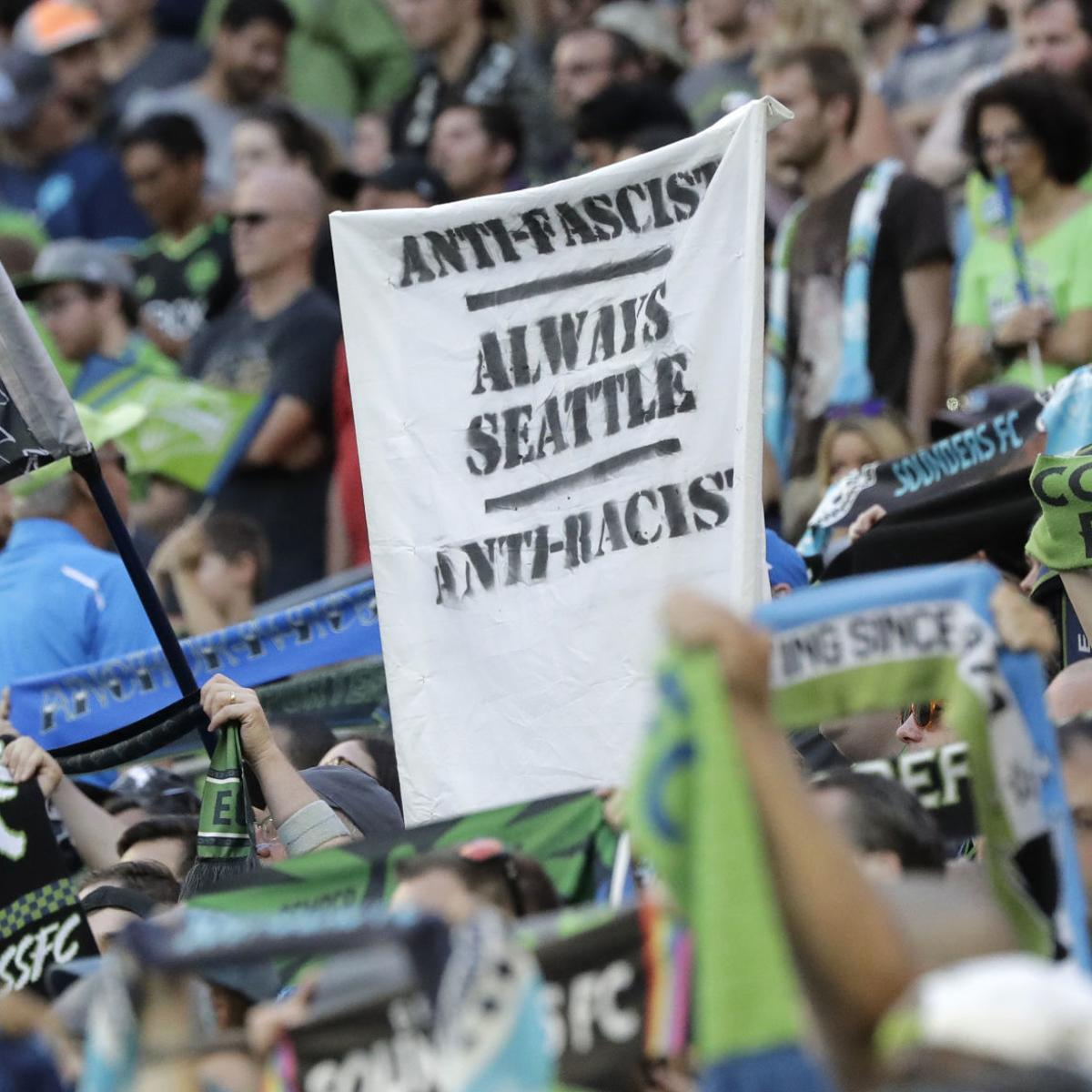 MLS teams navigate new 'no political display' policy | Sports