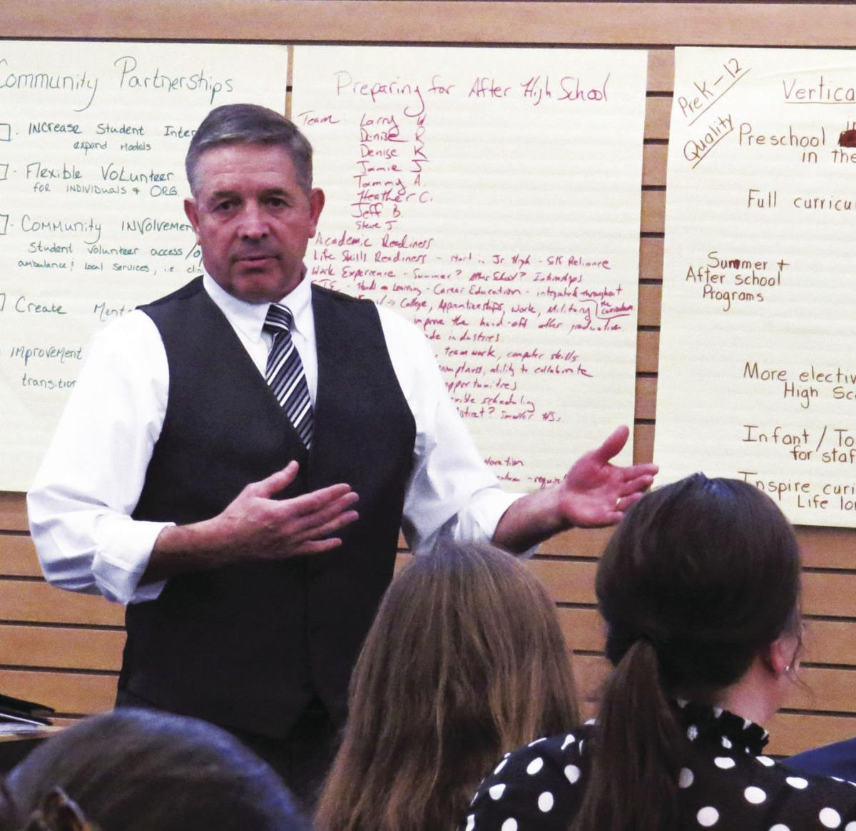 A shared vision: KCSD brainstorms strategic plan with community