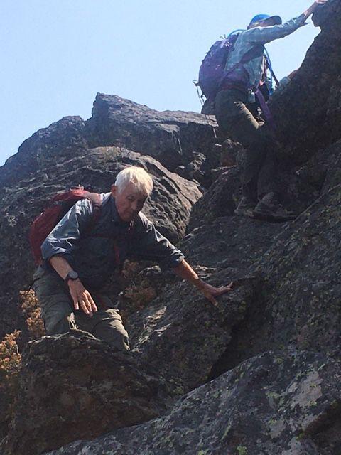Vulture Rock descent
