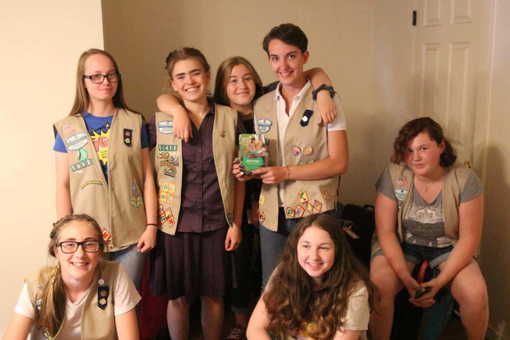 The Traveling Girl Scouts of Troop 50432