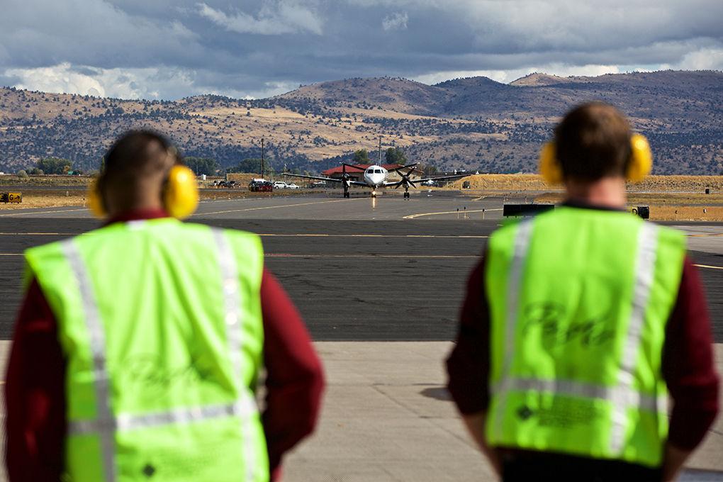 K-Falls airport navigates pandemic