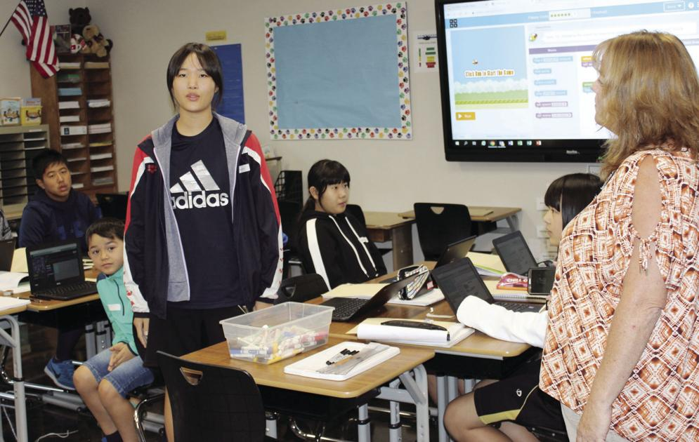 From Kagoshima to Klamath Falls: Teacher provides visiting Japanese student taste of U.S. classrooms