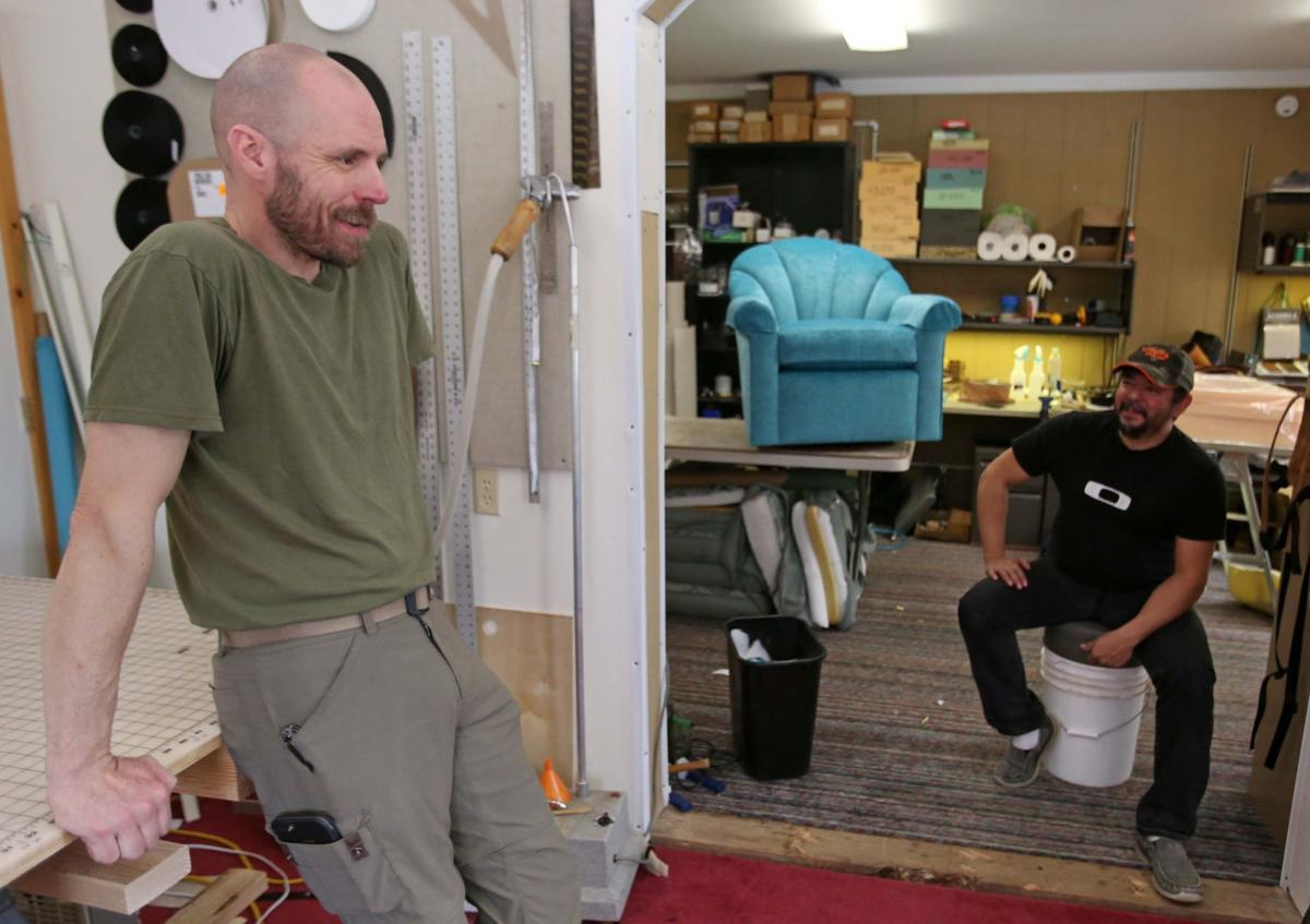 Home Garden Show Local Upholstery Business Stitches Up Shrinking