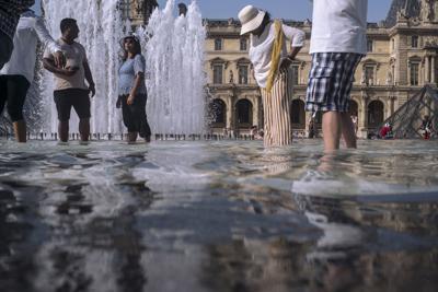 France Europe Heatwave