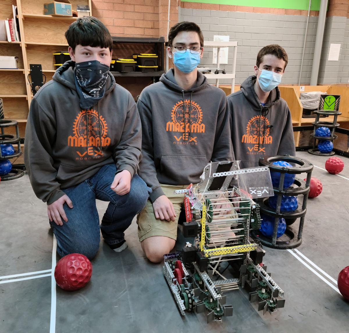Mazama robotics state champions