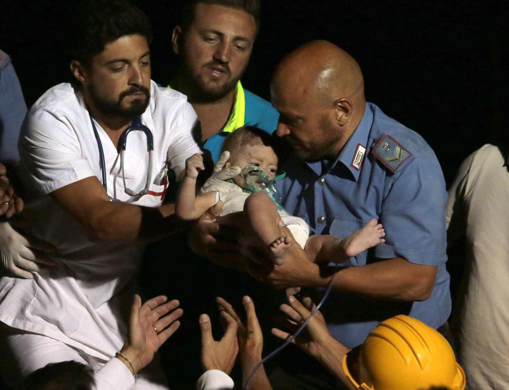 Baby rescued after deadly natural disaster
