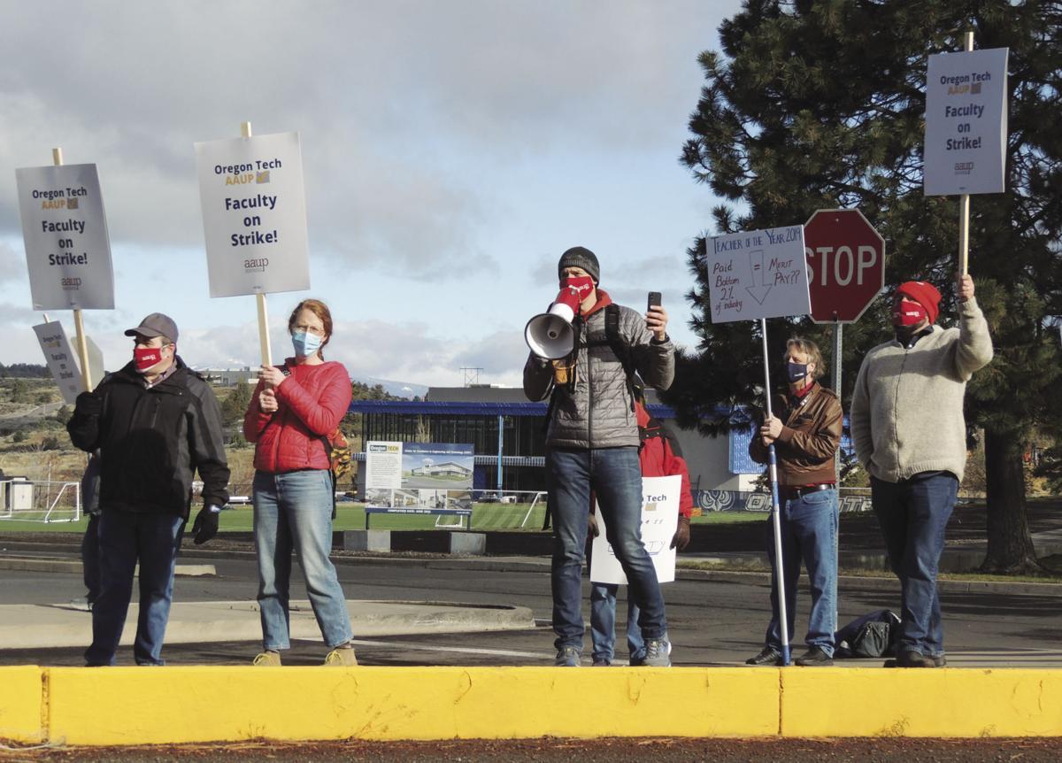 OIT faculty strike