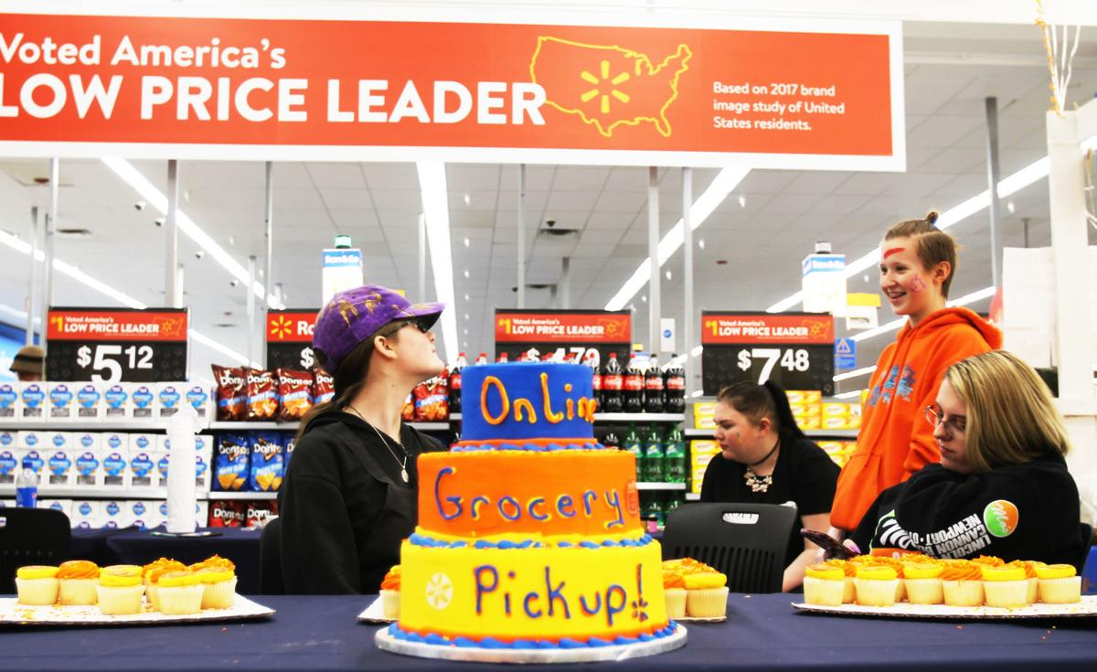Awesome Walmart Rolls Out Online Grocery Pickup In Klamath Falls Birthday Cards Printable Trancafe Filternl