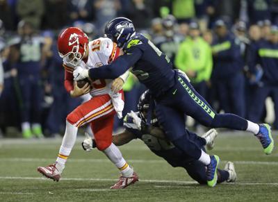 Chiefs Seahawks Trade Football