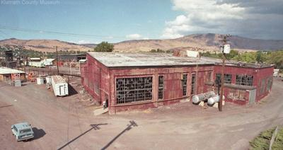 Southern Pacific roundhouse