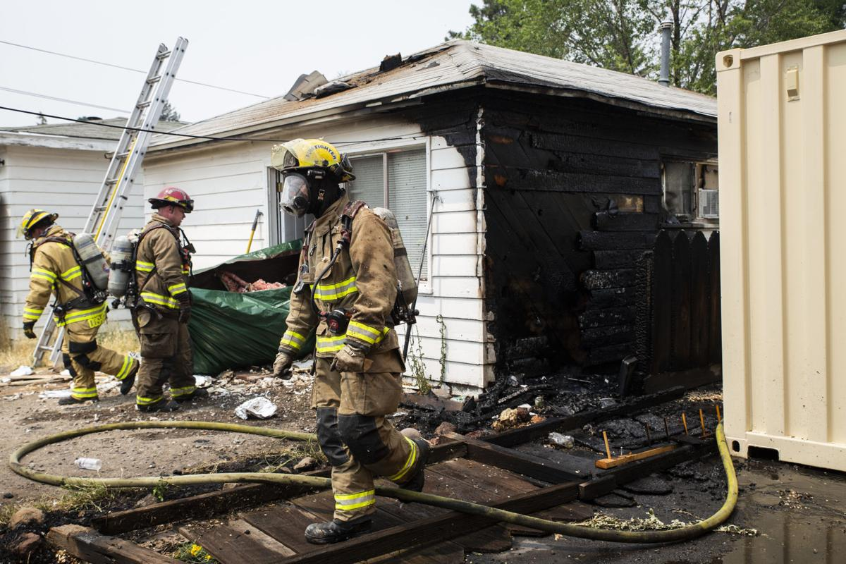 House Fire - Reclamation Ave