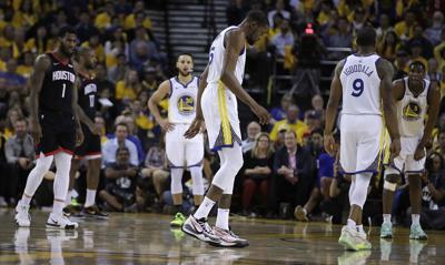 937a9147bd1 Rockets Warriors Basketball. Golden State Warriors  Kevin Durant ...