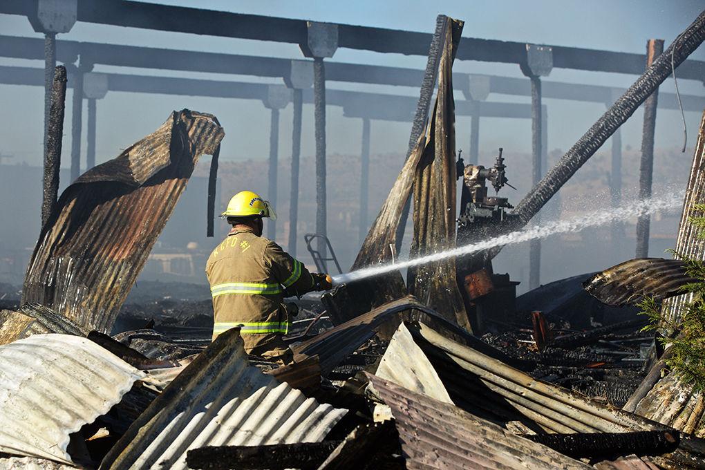 Spring Street warehouse fire
