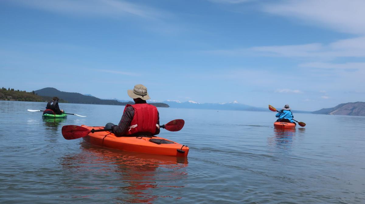 Upper Klamath Lake kayak
