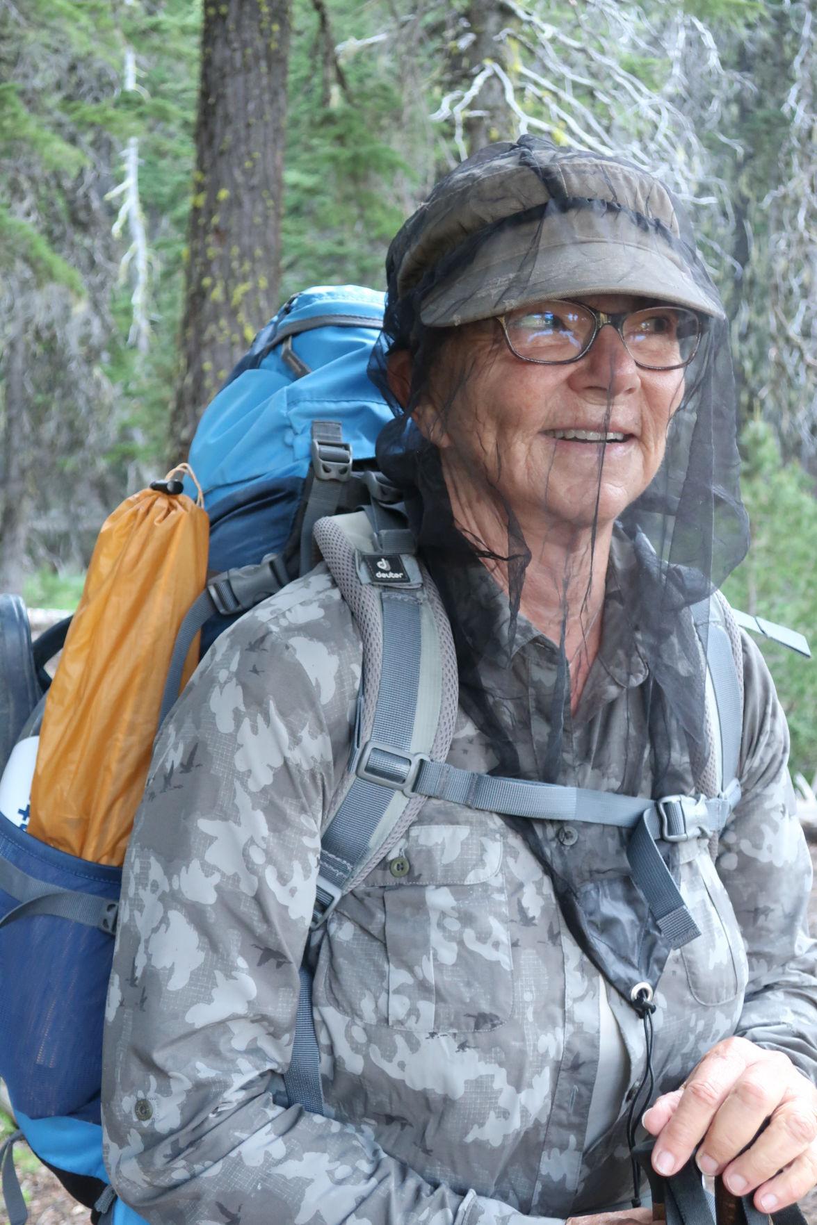 Cheryl Brown, mosquito net