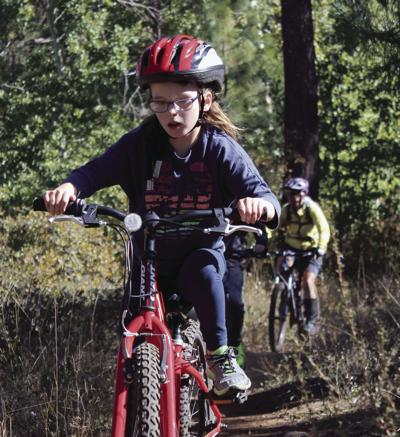 All about mountain biking: Shasta elementary club completes 7.5 mile course
