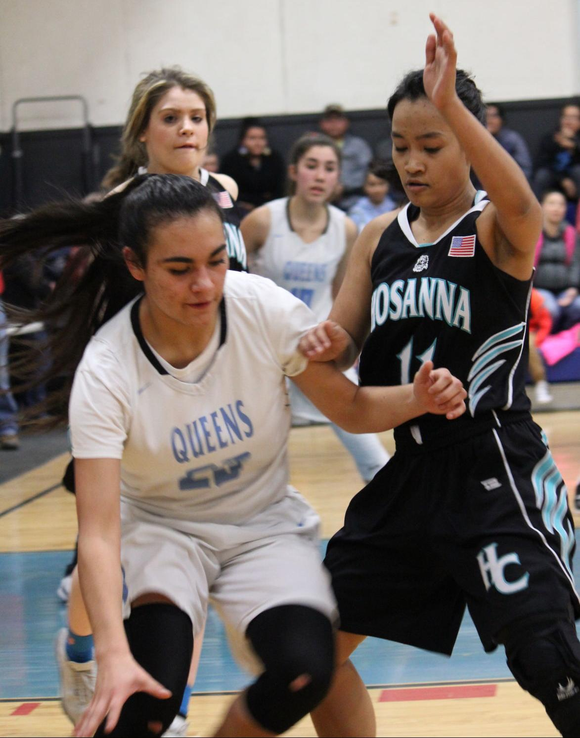Hosanna Christian Chiloquin girls basketball 2